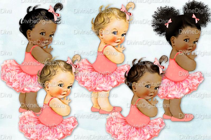 vintage-baby-girl-set-ballerina-coral