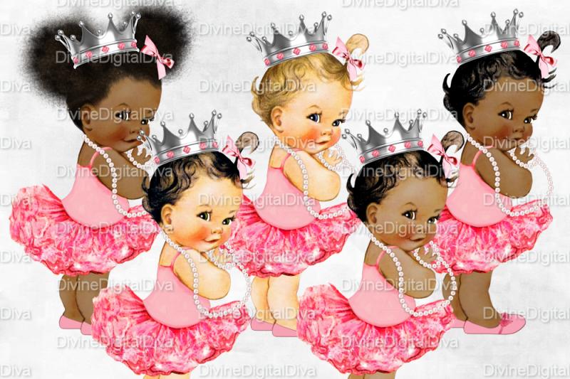 vintage-baby-girl-set-ballerina-silver-crown