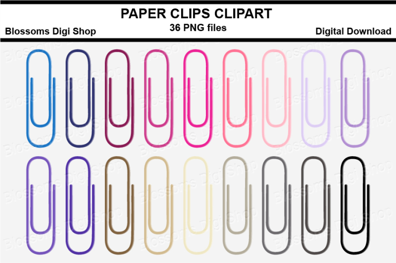 paper-clips-clipart-multi-colours-36-png-files