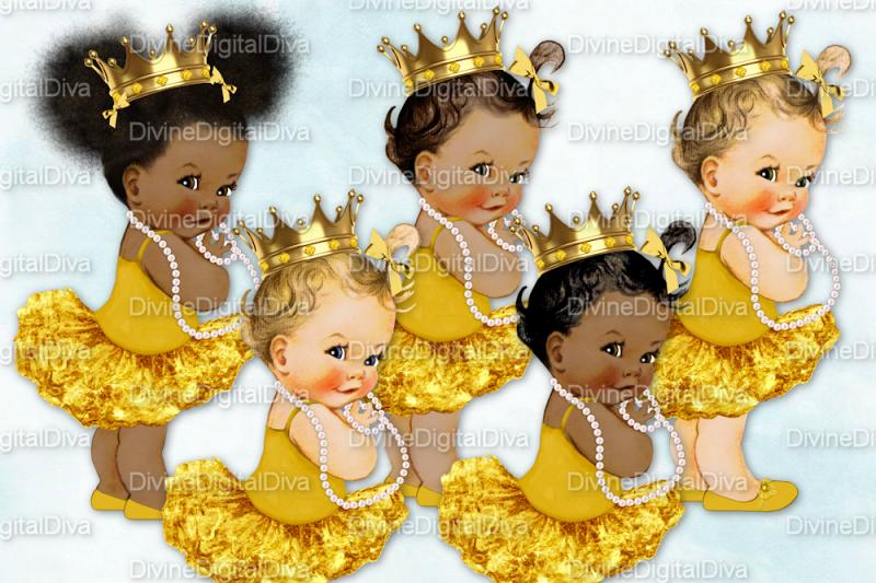 vintage-baby-girl-set-ballerina-gold
