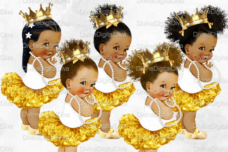 african-princess-baby-girl-set-ballerina-white-and-gold