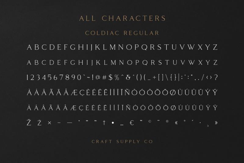coldiac-luxury-serif-font