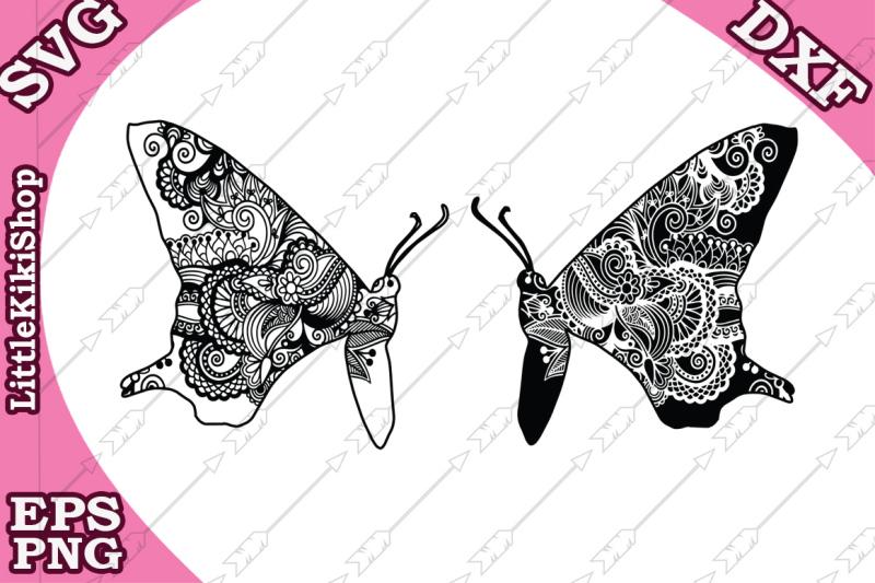 zentangle-butterfly-svg-mandala-butterfly-svg-zentangle-insect-svg