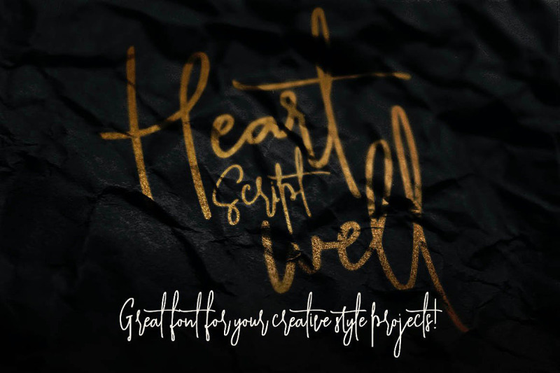 heartwell-script-font