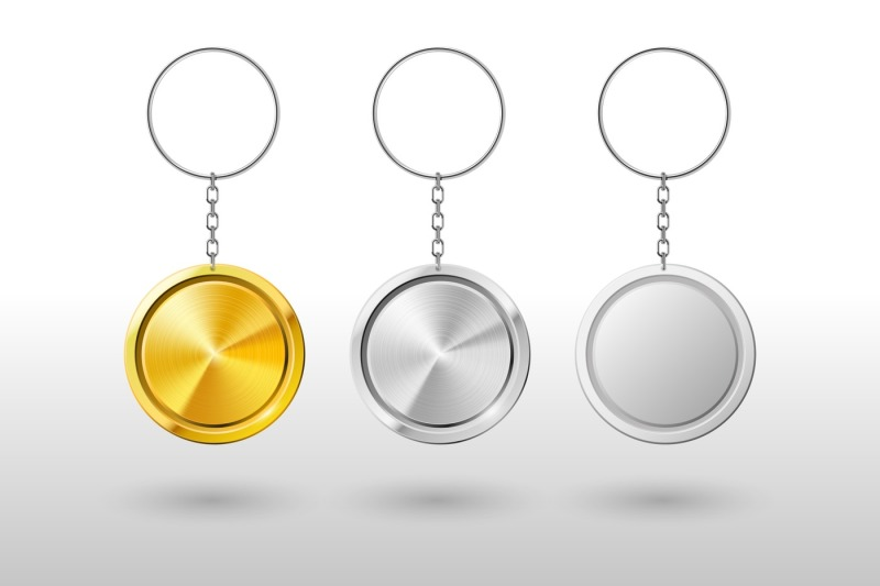 keychains-realistic-metal-and-plastic-round-keyring-holder-vector-mo