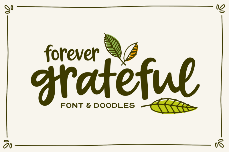 forever-grateful-font-amp-doodles
