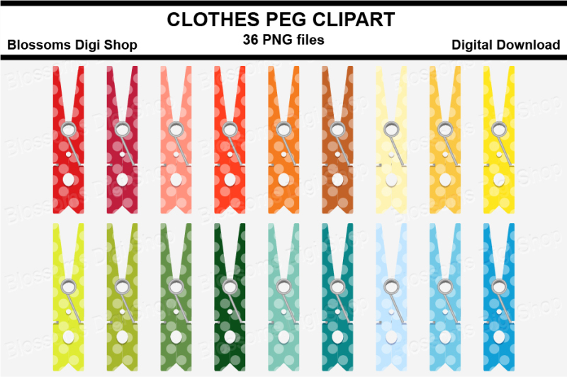 polka-dot-clothes-peg-pin-clipart-multi-colours-36-png-files