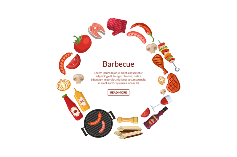 vector-illustration-with-barbecue-grill-or-steak-cooking