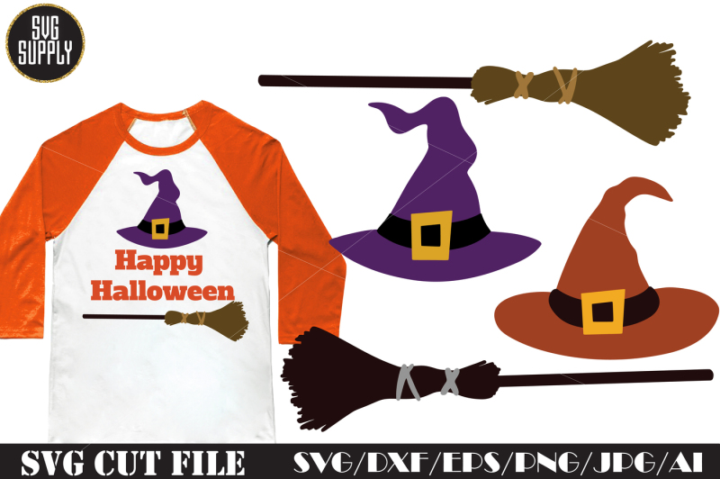 halloween-hat-and-broom-svg-cut-file