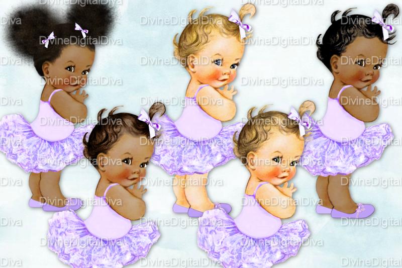 vintage-baby-girl-set-ballerina-lavender