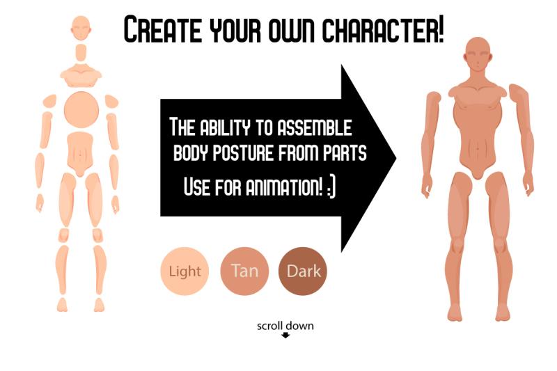 man-character-generator-ai-eps