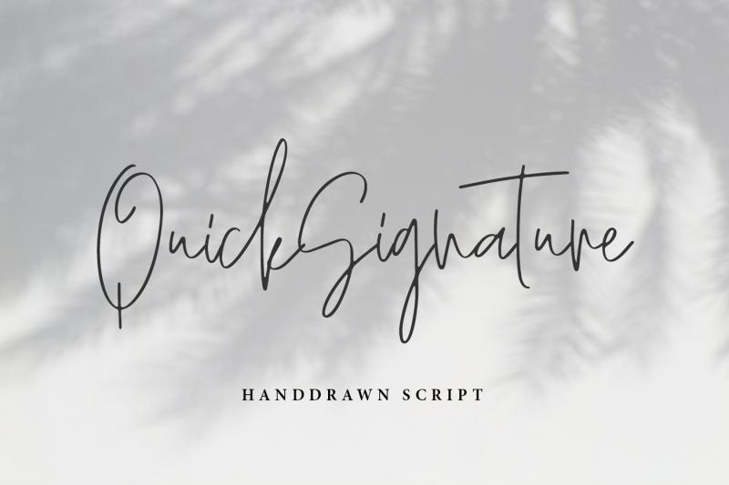 quicksignature