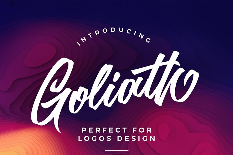 goliath-script-font