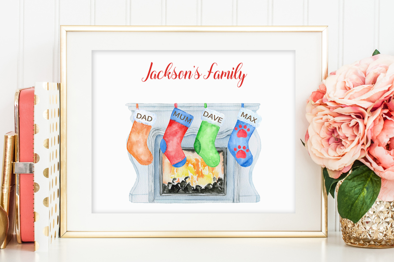 watercolor-christmas-stockings-and-fireplaces-clipart