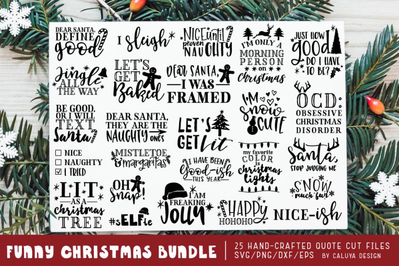 funny-christmas-phrases-svg-cut-file-bundle