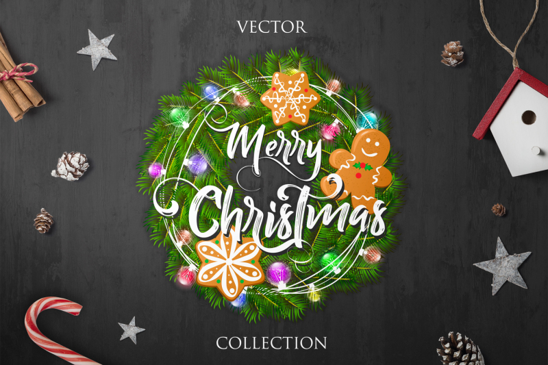 merry-christmas-vector-collection