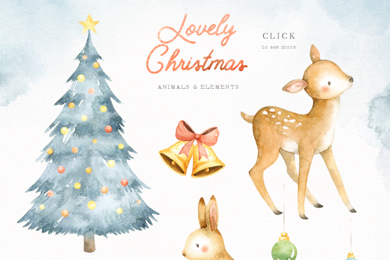 lovely-christmas-watercolor-clip-art
