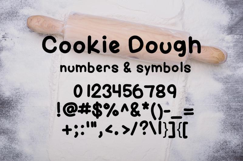 cookie-dough-font