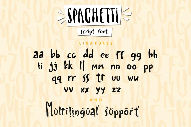spaghetti-playful-script-font-extras