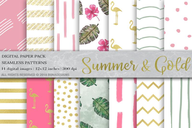 tropical-digital-paper-summer-digital-paper