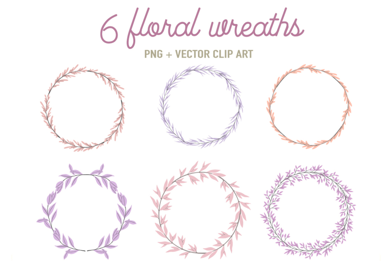 6-floral-frames-in-pink-and-lilac