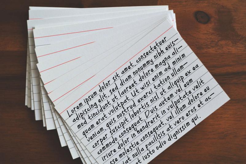 my-notes-a-handwritten-font