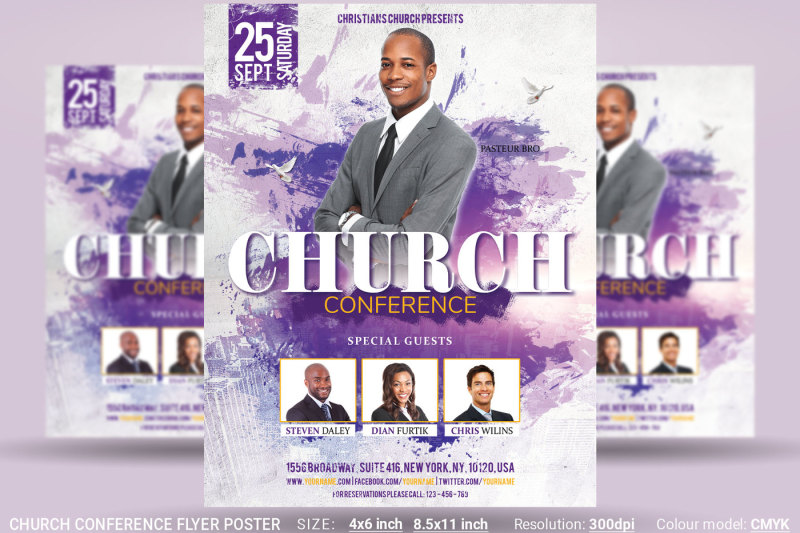 church-conference-flyer-poster