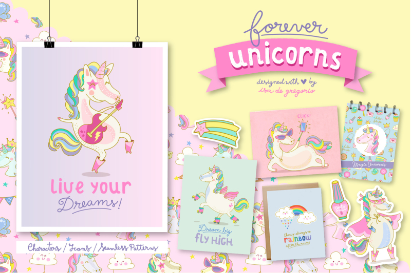 forever-unicorns-cute-collection