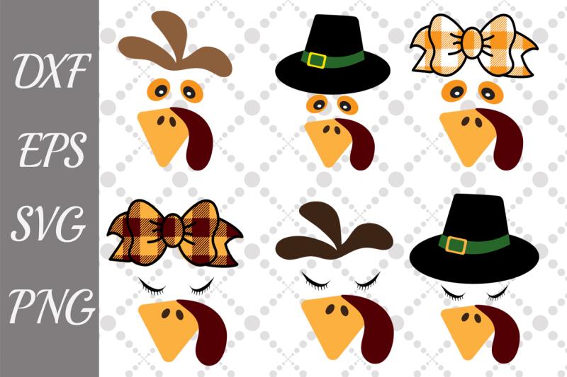 turkey-face-bundle-svg-bundle-turkey-svg-cute-turkey-svg