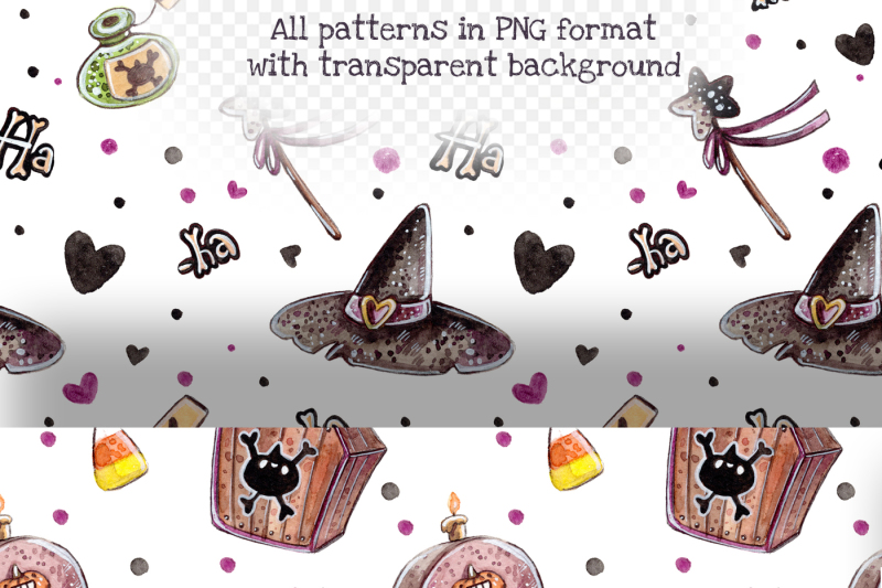 halloween-pumpkins-set-5-patterns