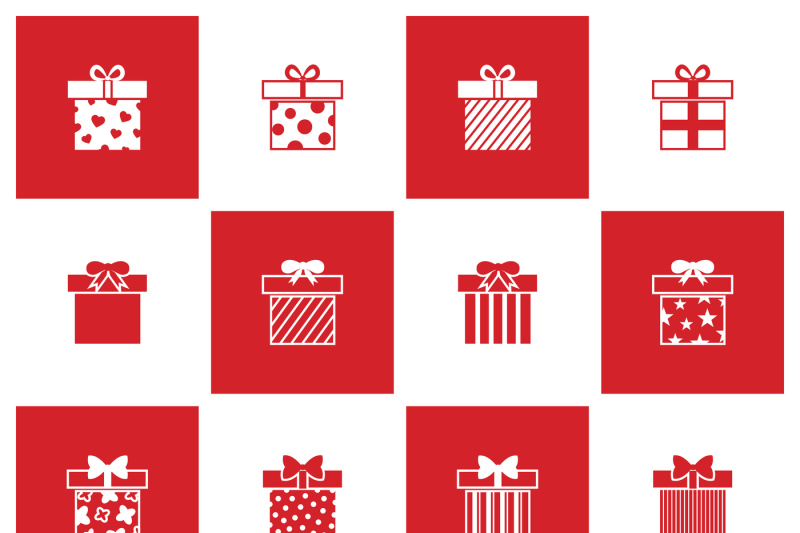 christmas-gift-boxes-vector-icons-set