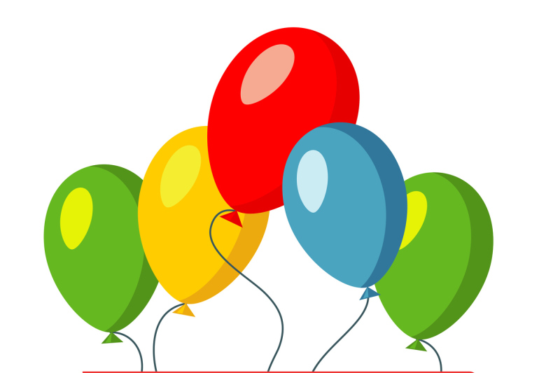 happy-birthday-red-banner-and-baloons-vector-illustration
