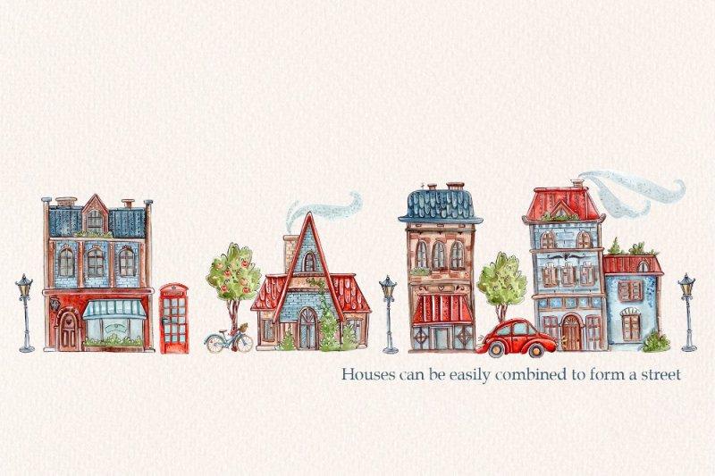 english-houses-set-3-patterns