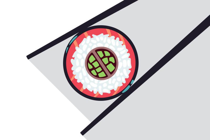 sushi-bar-food-logo-template