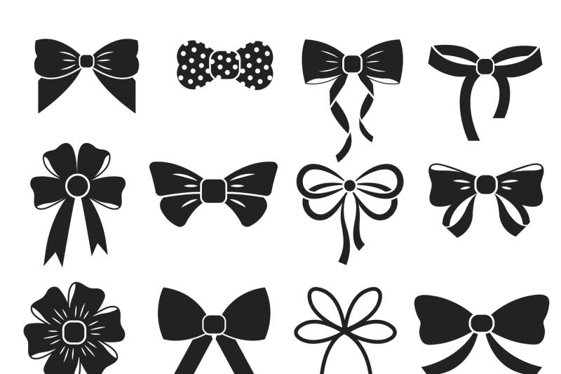 holiday-gift-christmas-bows-vector-set