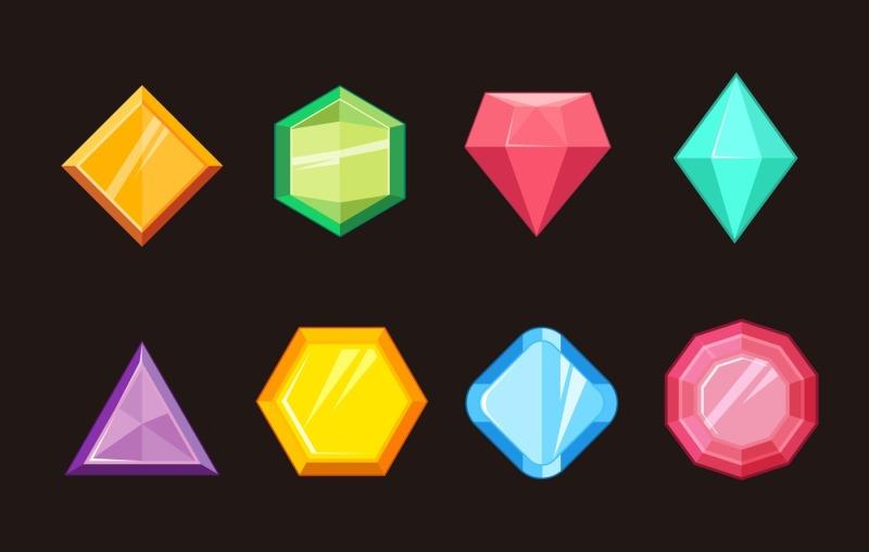 cartoon-gems-jewels-diamond-brilliant-vector-set
