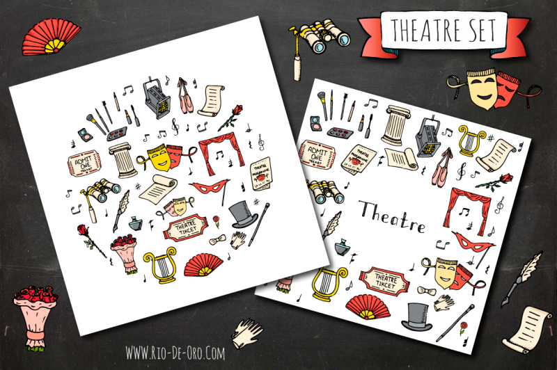 50-theatre-hand-drawn-elements
