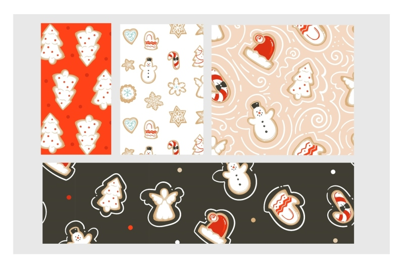 christmas-cookies-vector-collection