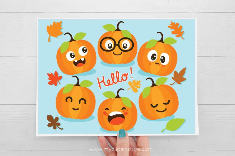cute-pumpkins-clipart-fall-autumn-thanksgiving-sublimation-svg