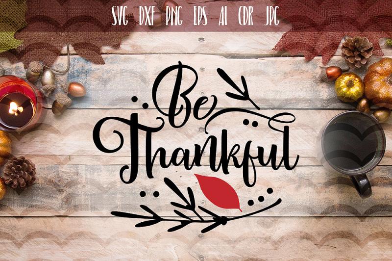 be-thankful-svg