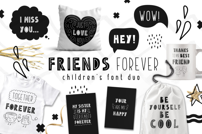 friends-forever-childrens-font-duo