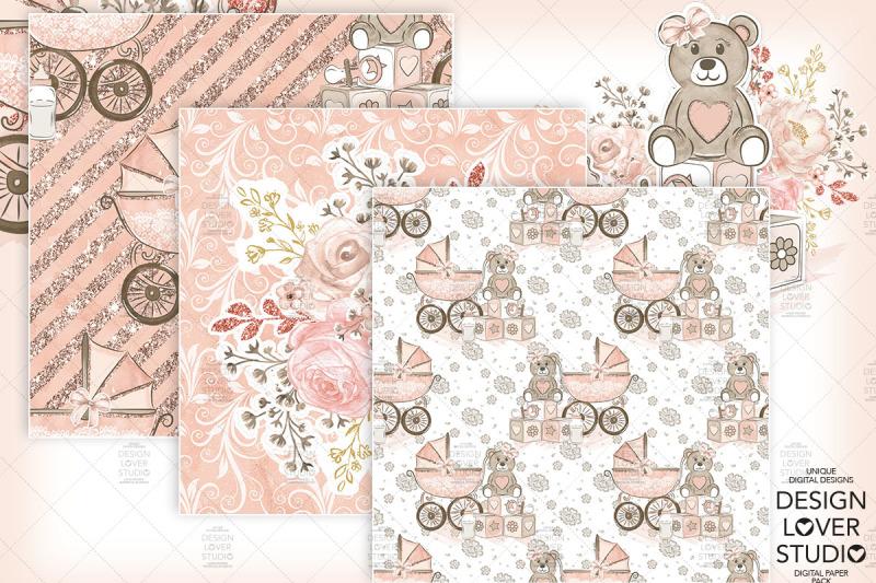 baby-girl-digital-paper-pack