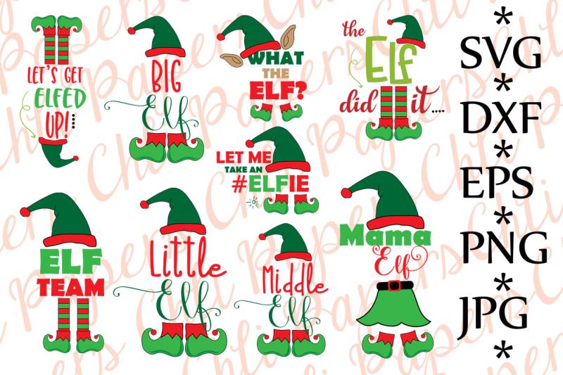 bundle-elf-svg-christmas-bundle-svg
