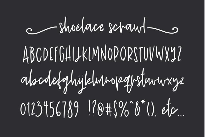 shoelace-scrawl-a-handwriting-font