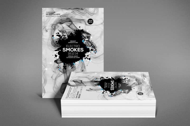 smoke-night-party-flyer
