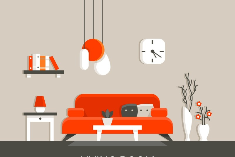 modern-home-living-room-interior-with-furniture-vector-illustration