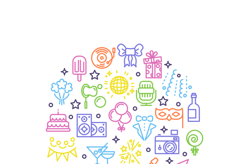 event-party-entertainment-happy-christmas-outline-vector-icons-in-c