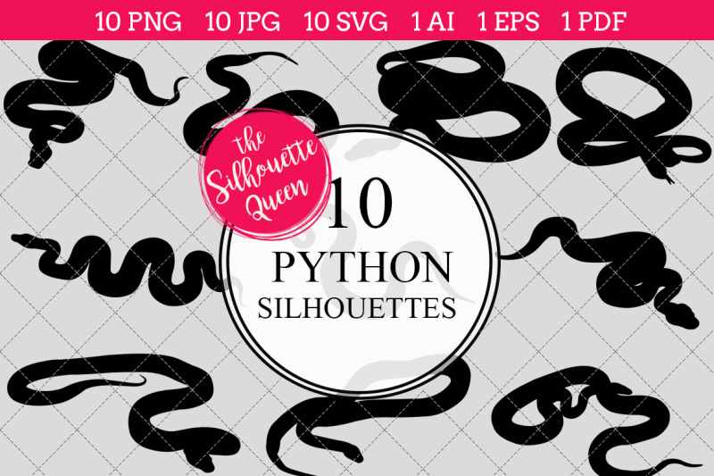 python-silhouette-vector