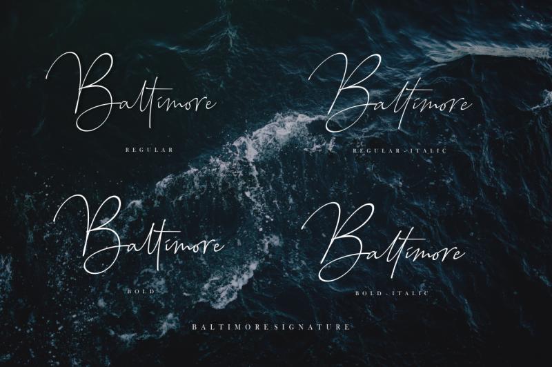 baltimore-font-family