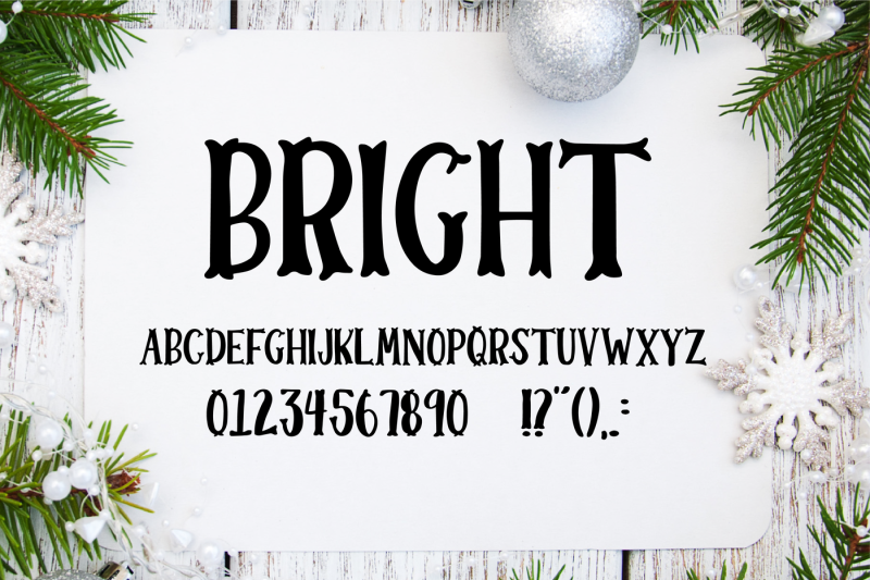 merry-and-bright-christmas-font-duo